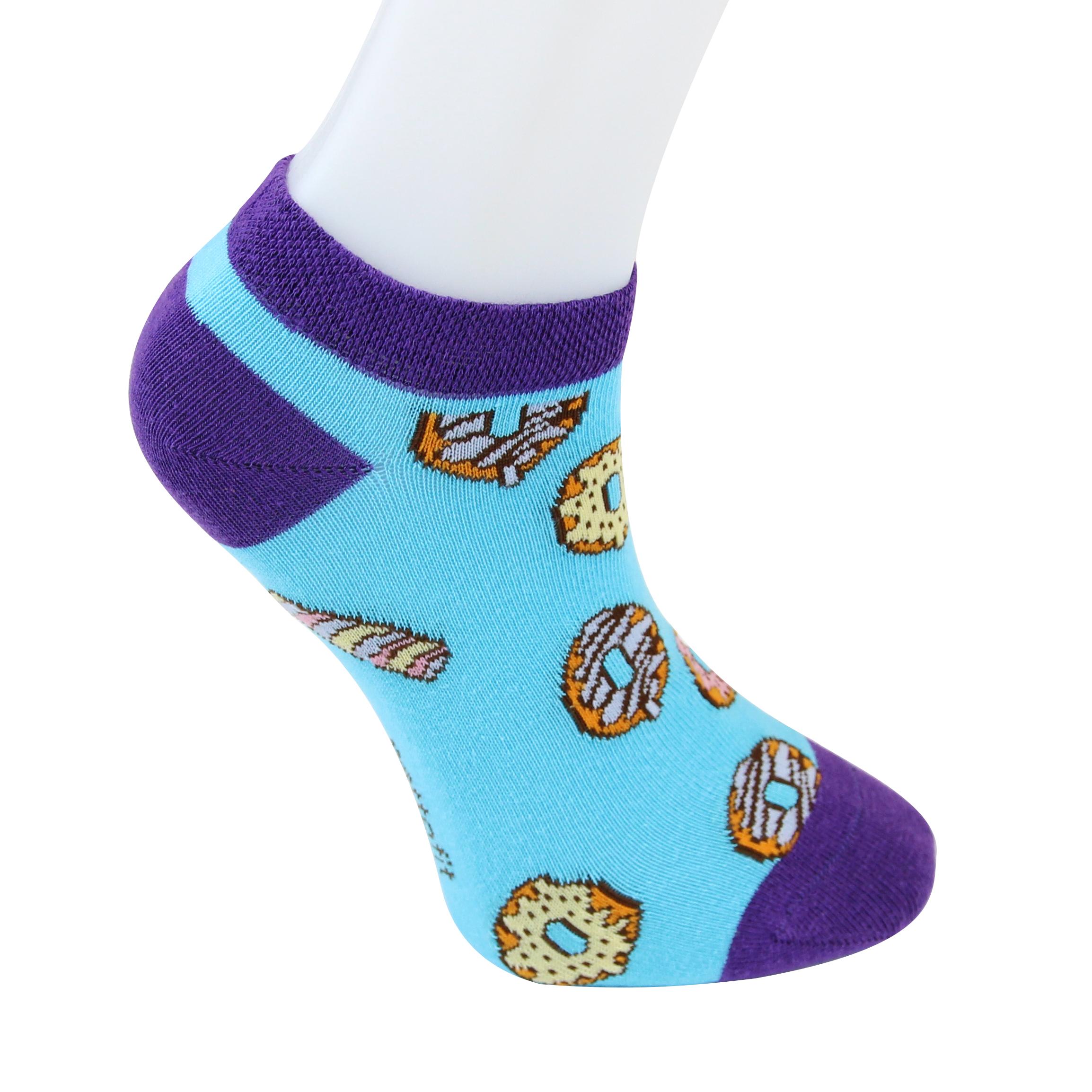 Quarter Funny Socks